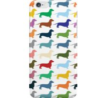 Dachshunds pattern iPhone Case/Skin