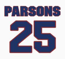 Basketball player Chandler Parsons jersey 25 by imsport