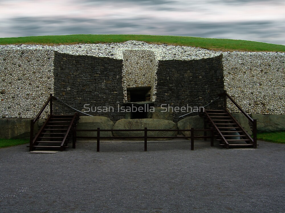 Newgrange Passage Tomb by Susan Isabella  Sheehan