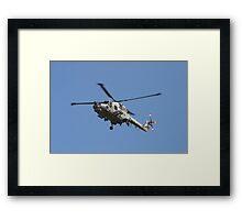 Westland Lynx Framed Print