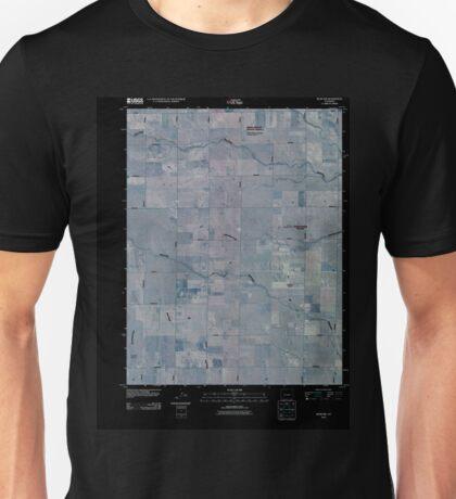 USGS TOPO Map Colorado CO Rush NW 20100913 TM Inverted Unisex T-Shirt
