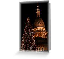 Capital Christmas Greeting Card