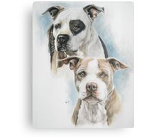 Sparkle and Buster Canvas Print