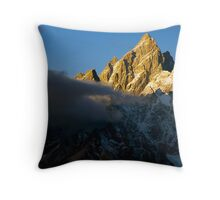The Grand Teton Throw Pillow