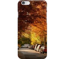 foliage in the city iPhone Case/Skin