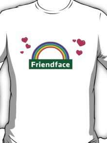 The IT Crowd – Friendface Logo T-Shirt