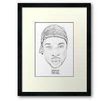 JD (HHL) Framed Print