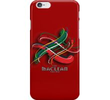 MacLean Tartan Twist iPhone Case/Skin