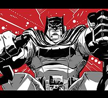 Dark Knight Returns by averagejoeart