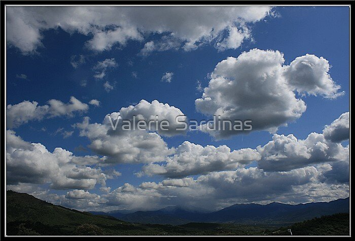 Rolling clouds by Valerie Sardinas