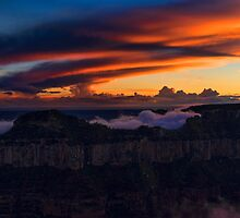 North Rim Dusk by Mike Herdering