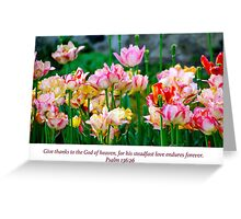 Love Endures Forever Greeting Card