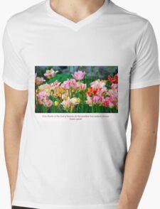 Love Endures Forever Mens V-Neck T-Shirt