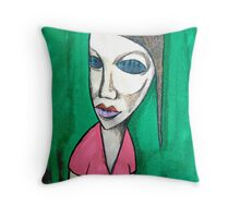 The Waitress Throw Pillow