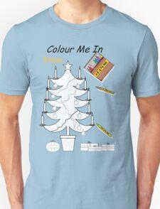 Colour me Xmas Tree  Unisex T-Shirt