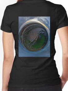 Winter Solstice Dawn over Grianan, Donegal, Ireland Women's Fitted V-Neck T-Shirt