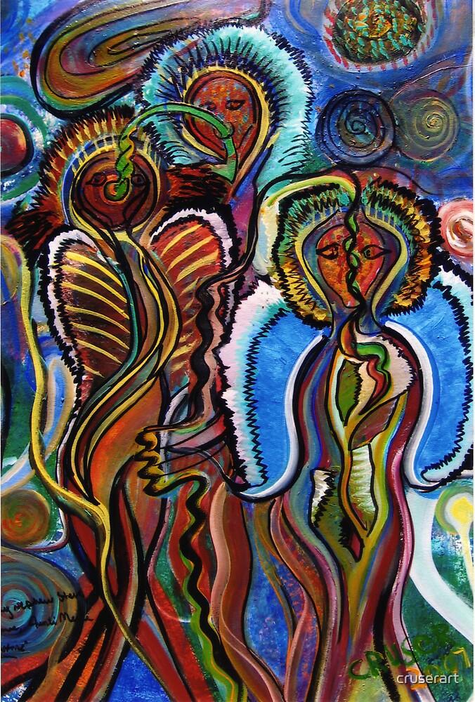 Alien Lovers by cruserart