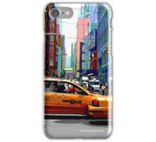 NYC Taxis iPhone Case/Skin