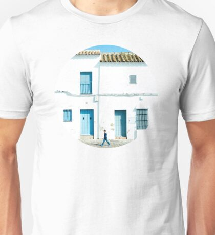 White and blue town Unisex T-Shirt