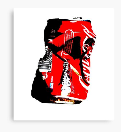 Red Can Canvas Print