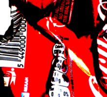 Red Can Sticker