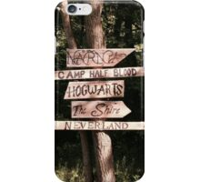 Which path will you take? iPhone Case/Skin