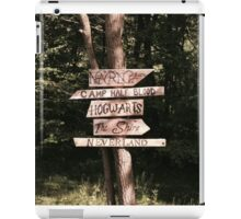 Which path will you take? iPad Case/Skin