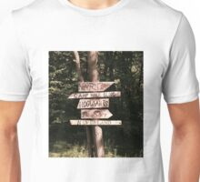 Which path will you take? Unisex T-Shirt