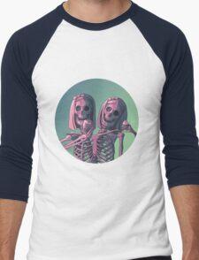 Siamese Twins  Men's Baseball ¾ T-Shirt