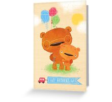 Teddy Daddy Greeting Card