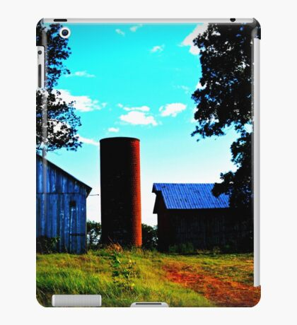 Farm buildings iPad Case/Skin