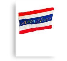 AMAZING Thailand's Flag Canvas Print