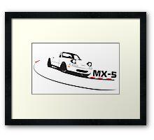 Mazda Miata (MX-5)  Framed Print