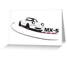 Mazda Miata (MX-5)  Greeting Card