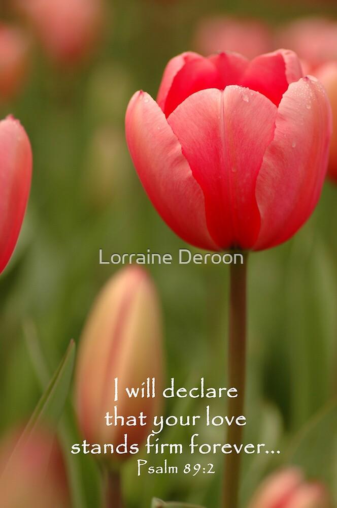 Declaration by Lorraine Deroon
