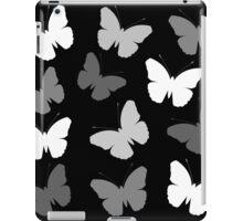 Monochrome Butterflies iPad Case/Skin