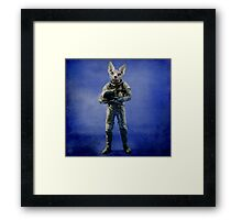 Look into the distance Framed Print