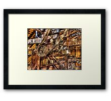 The Thing-a-ma-Jig Framed Print
