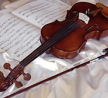 Mellow Violin by Astrid Pardew