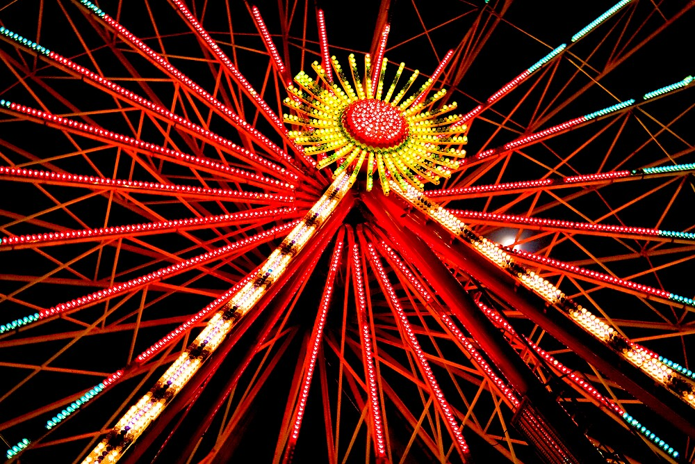 """Ferris Wheel"" by Chris Clark"