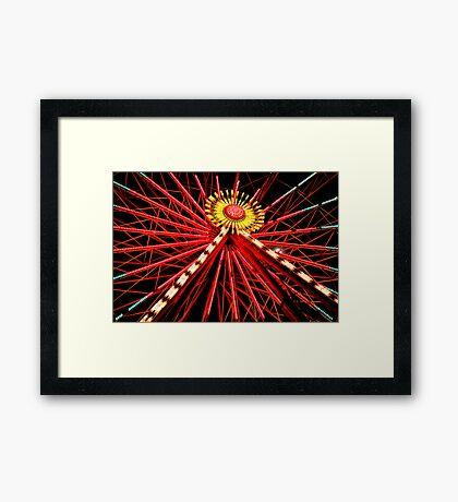 """""""Ferris Wheel"""" Framed Print"""