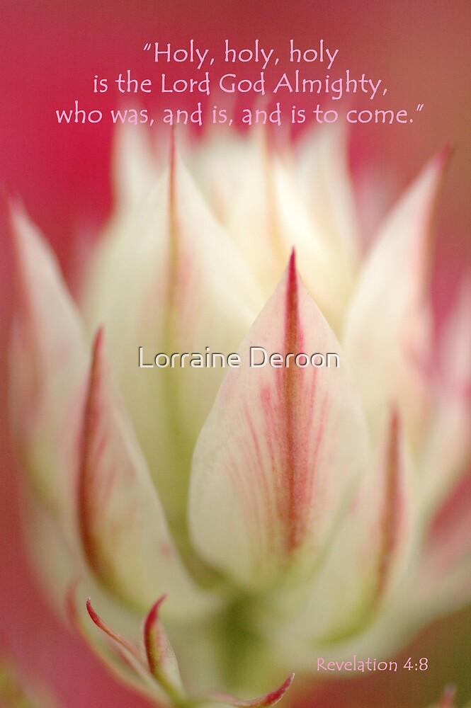 The Angels Sing by Lorraine Deroon