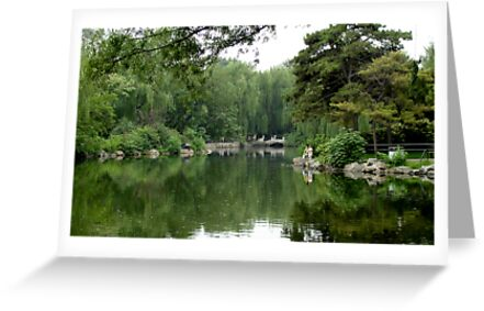 Garden in Beijing by nickwisner