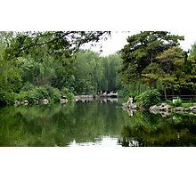 Garden in Beijing Photographic Print