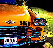 Big Yellow Taxi by EricHands
