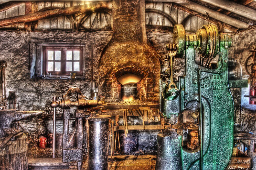 The Blacksmith Shop  by Mike  Savad