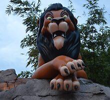 Disney Lion King Disney Villain Scar Lion by notheothereye