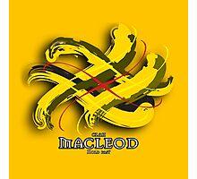 MacLeod Tartan Twist Photographic Print