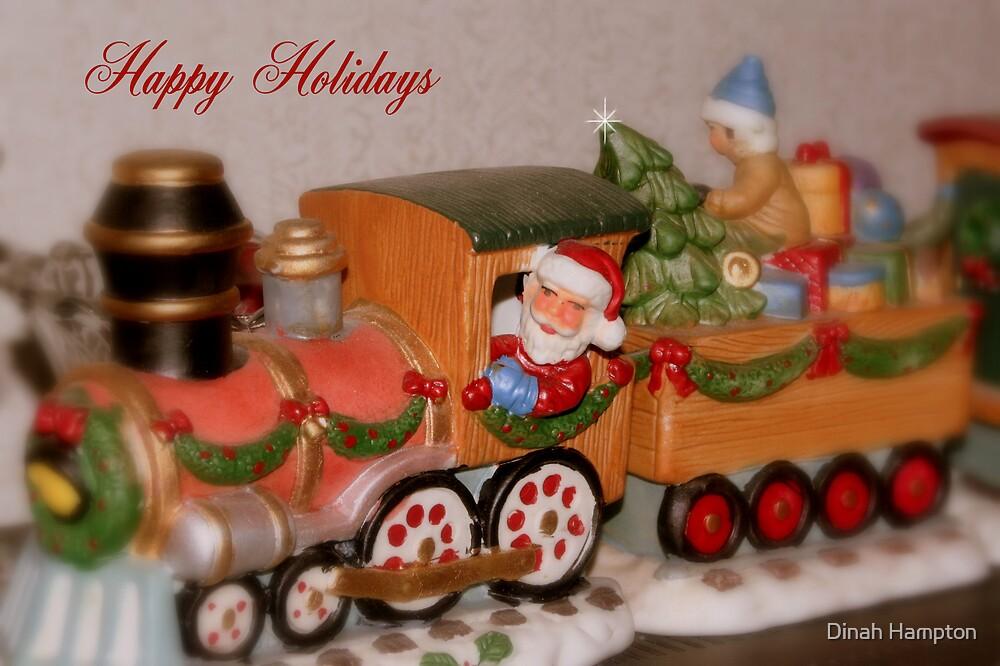 Christmas Train by Dinah Hampton