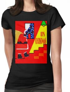 IT'S CHRISTMAS Womens Fitted T-Shirt